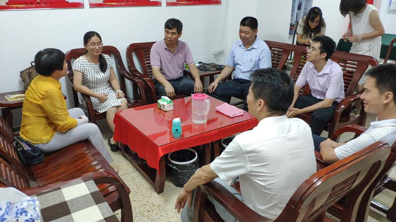 民盟惠州市委会到汕头调研农村环境综合整治长效机制